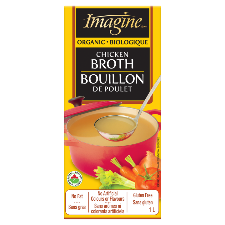 Broth - Free Range Chicken - 1 L
