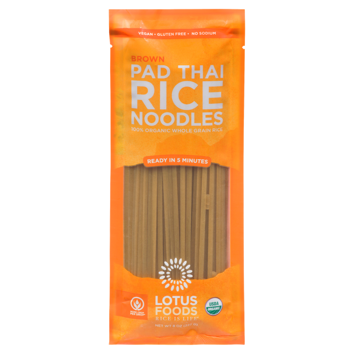 Pad Thai Rice Noodles - Brown - 227 g
