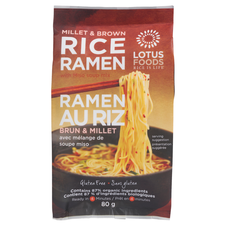 Rice Ramen - Millet & Brown - 80 g