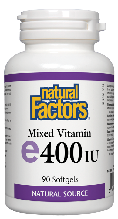 Mixed Vitamin E - 400 IU - 90 soft gels